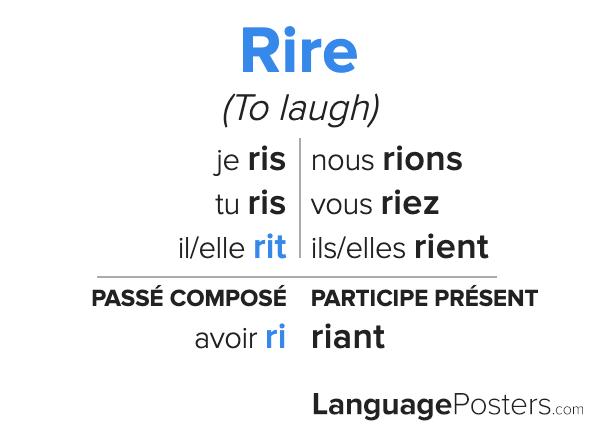 Rire Conjugation