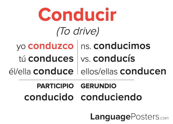 Conducir Conjugation