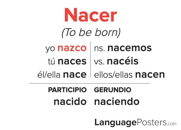 Nacer Conjugation