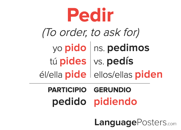 Pedir Conjugation