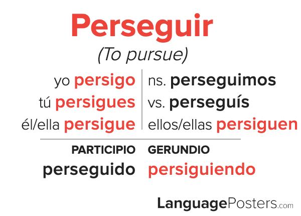 Perseguir Conjugation