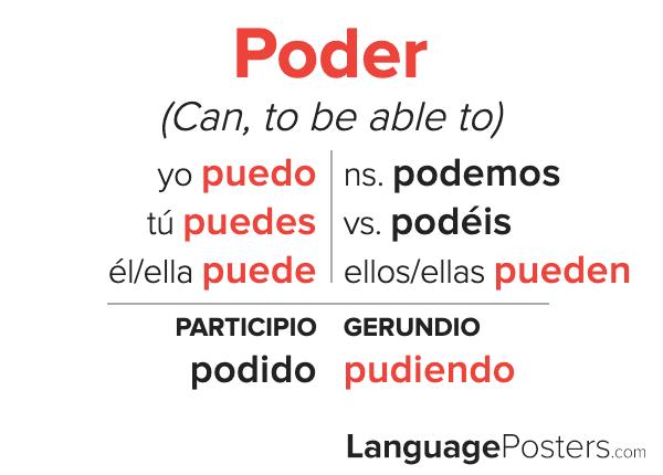 Poder Conjugation