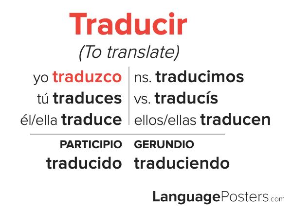 Traducir Conjugation