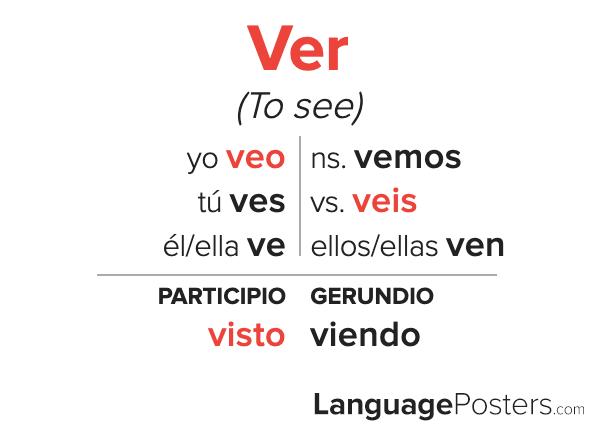 Ver Conjugation